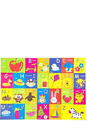 """Make learning the alphabet fun for your little one with this interactive puzzle that will help your child become familiar with all the letters of the alphabet. This puzzle is not suitable for children under 3 years.<BR><BR><b class=""""descTitle"""">Dimensions:</b><BR>L24xW18.5xH5.5cm"""