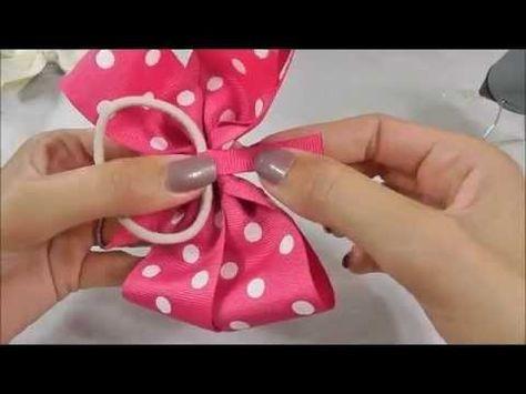 How To Make Hair Bows: Pinwheel Hair Bow #rrrmakehairbows