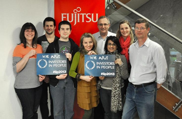 Fujitsu are Investors in People #iip2013
