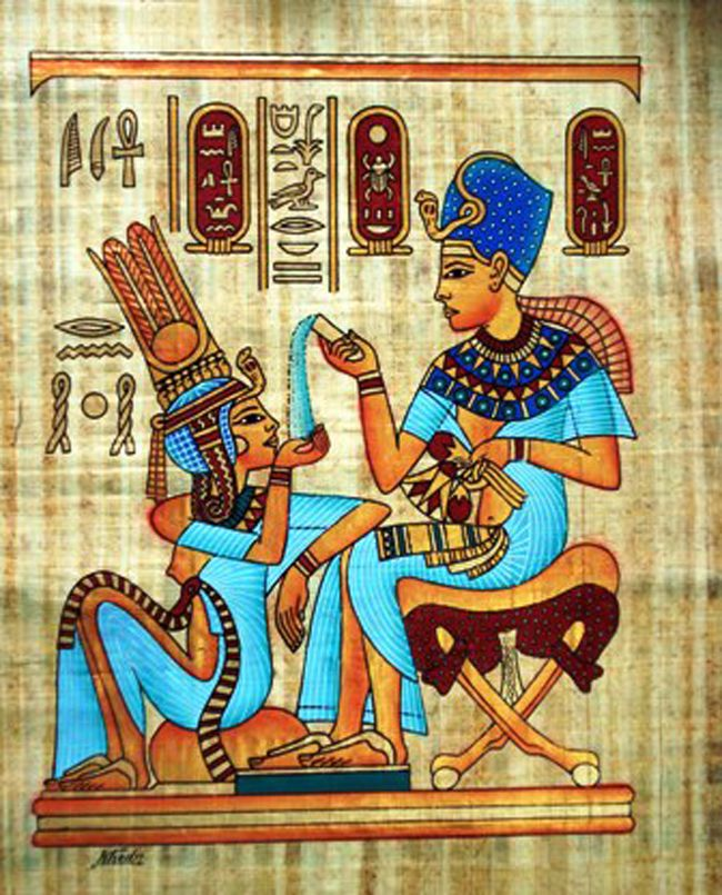78 best egyptian paintings images on pinterest ancient for Egyptian mural paintings
