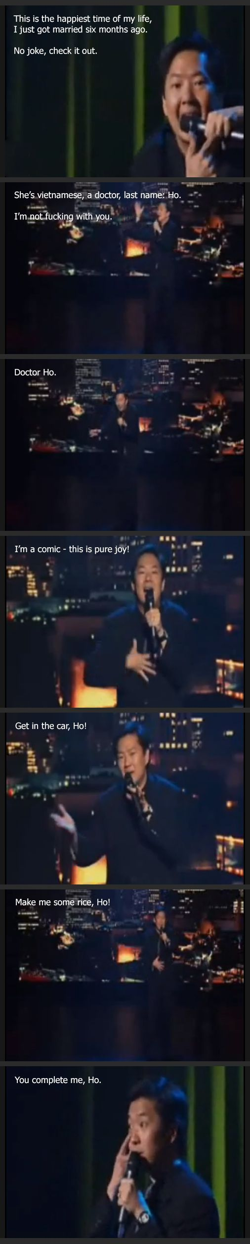 Ken Jeong's marriage...