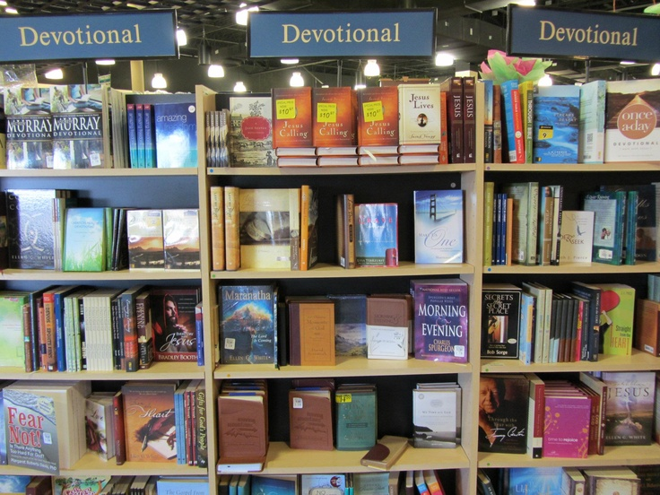 We have Devotional books for every age at the Potomac Adventist Book & Health Food Store.Health Food