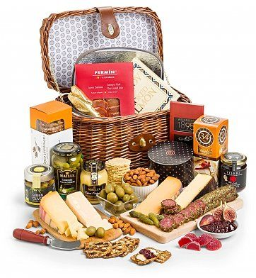 Cheese, Charcuterie Gifts: Select Charcuterie and Gourmet Cheese Hamper