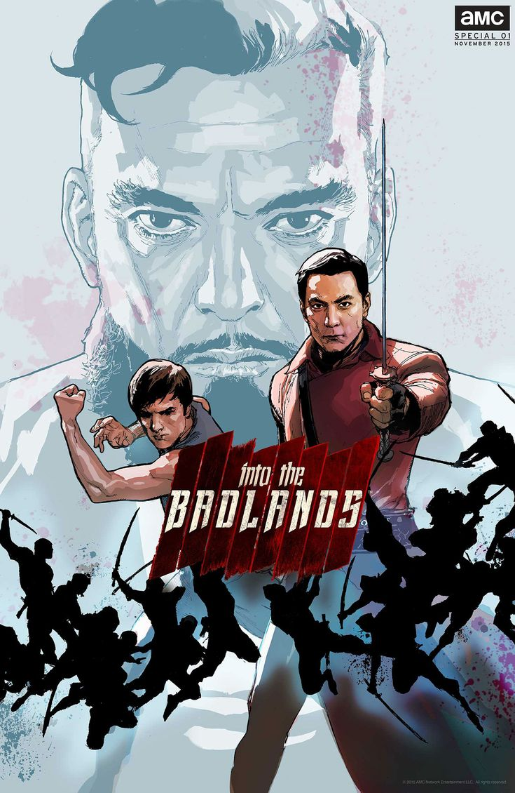 Into The Badlands Excited - looks good!