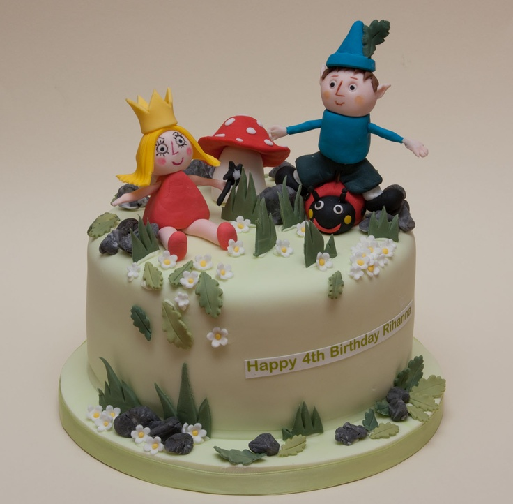 how to make a ben and holly cake