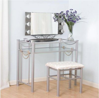 Lighted Vanity Mirror With Storage : simply gorgeous! http://www.vanitygirlhollywood.com/113.html Vanity Girl Hollywood Pinterest ...