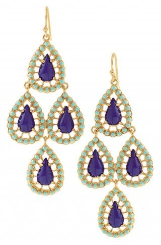 just got my Seychelles Chandeliers earrings in the mail - gorgeous, must have for summer!
