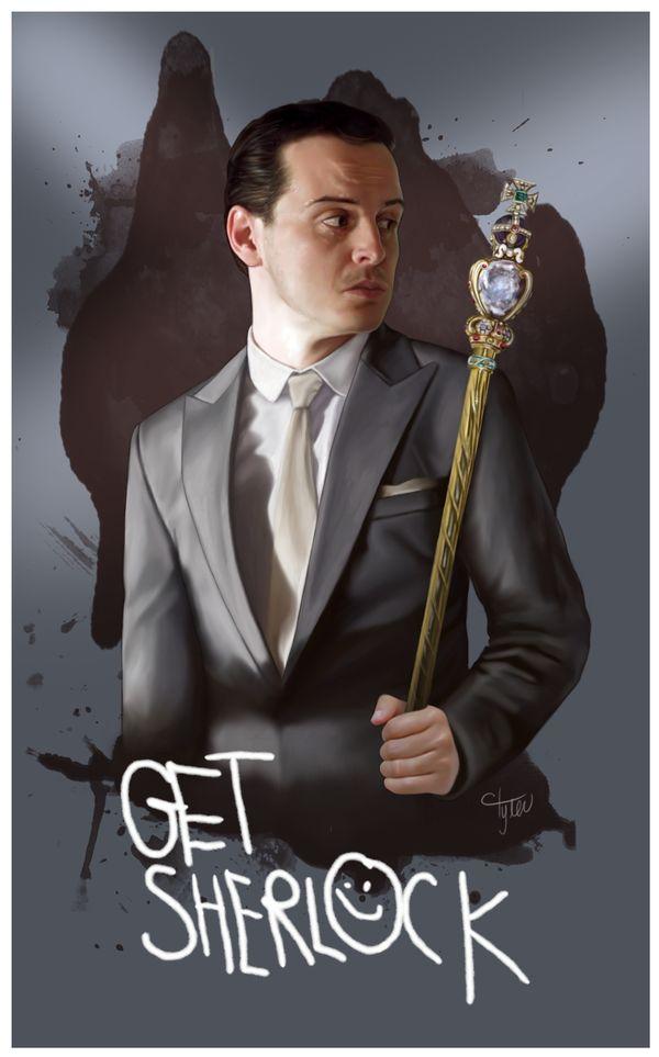 IOU by ctyler.deviantart.com. Moriarity. Sherlock.