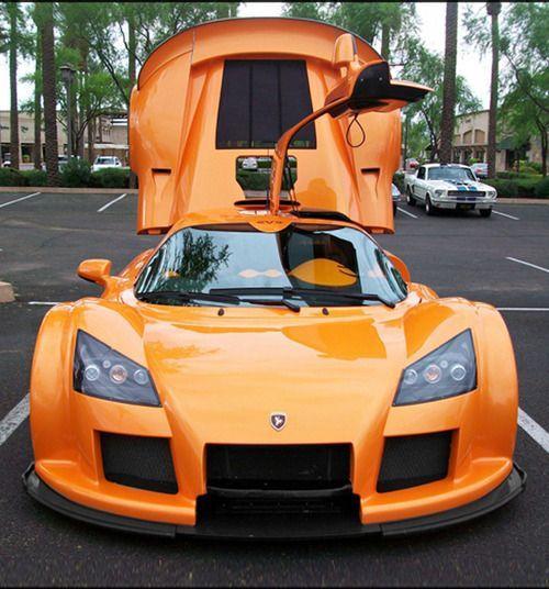 Orange car Apollo #car #wheels #orange