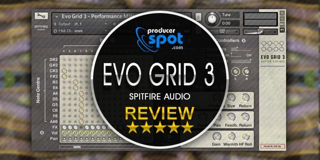 Review: EVO GRID 3 Sample Library by Spitfire Audio