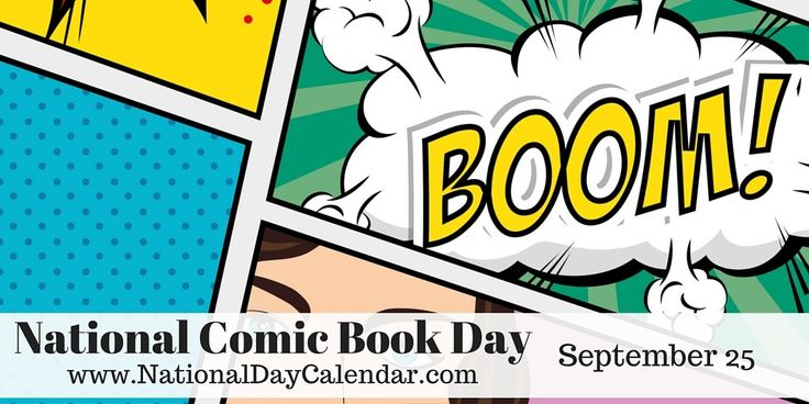 NATIONAL COMIC BOOK DAY - September 25