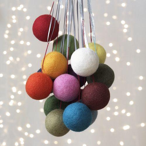Jubilee sphere ornament set dwellstudio home goods for Christmas decorations home goods