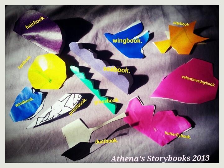 Athena's storybooks.