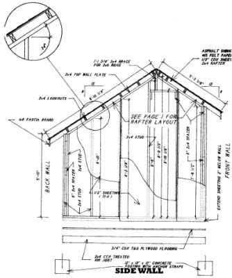 Hasil Gambar Untuk Saltbox Roof Shed