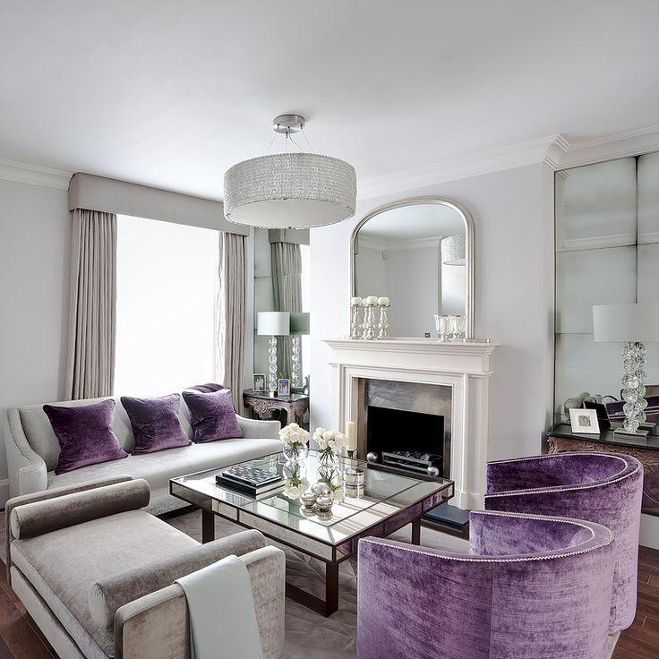 15 best ideas about Purple Living Room Sofas on Pinterest
