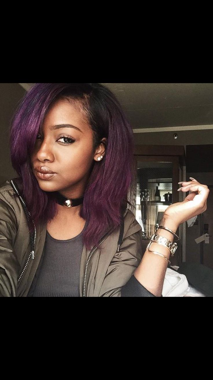 The 8 best hair colors images on pinterest hair colours haircolor bob hairs purple hair justin skye fall 2015 hair colors google search hair ideas purple unicorn wigs solutioingenieria Gallery