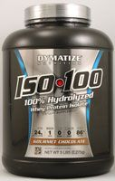 Dymatize ISO•100™ Hydrolyzed Whey Protein Isolate Gourmet Chocolate