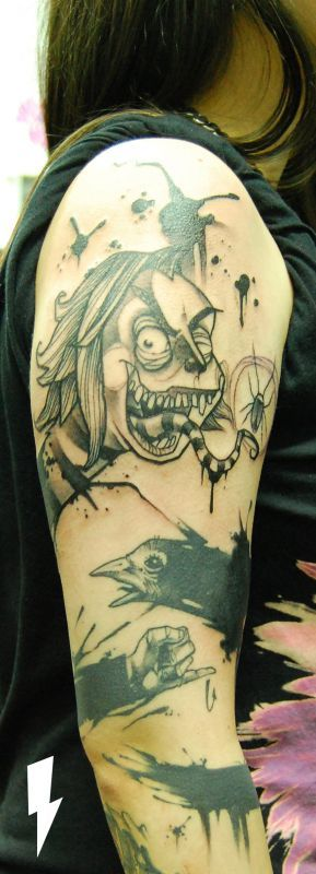 beetlejuice by Jukan @ stilbruch-tattoo.com