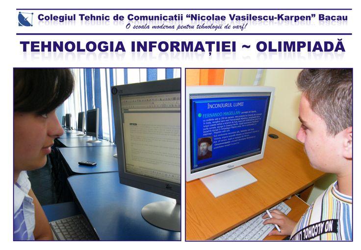 Tehnologia Informației - Olimpiadă