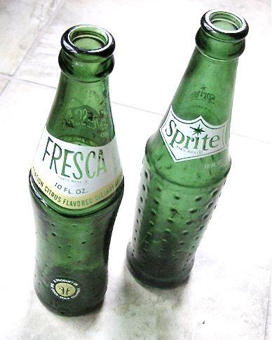 Glass bottles!