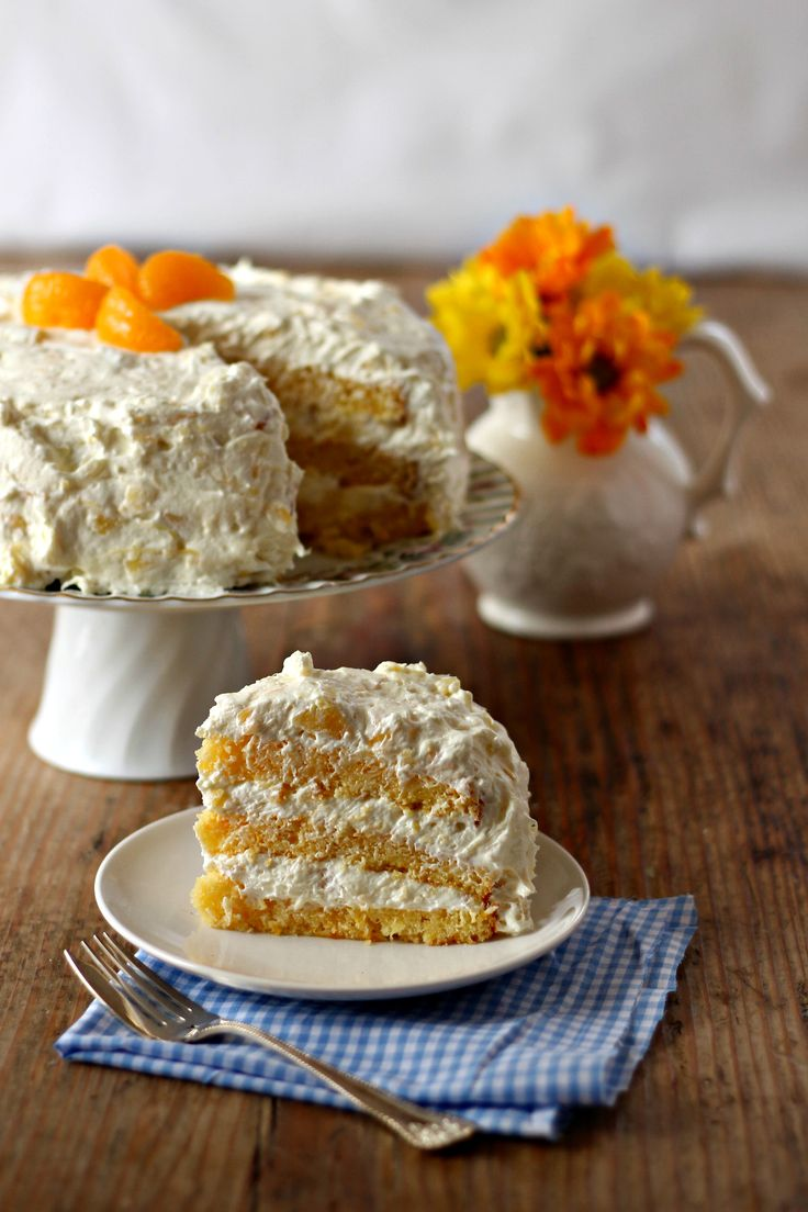 Need a great Easter or spring cake recipe? Easter Sunshine Cake is perfect for warmer weather entertaining.