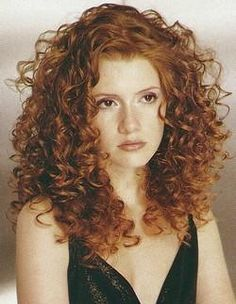Image result for white girl curly hair