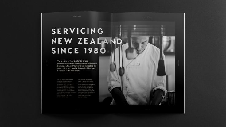 Tried&True — Brand identity, print design & photography for Service Foods
