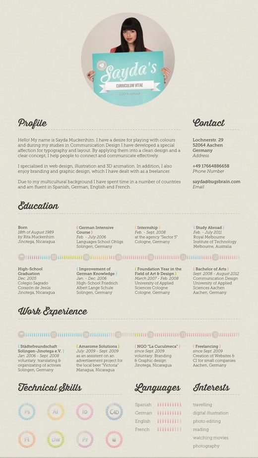 90 best CV Infographic images on Pinterest Resume templates, Cv - factory resume examples