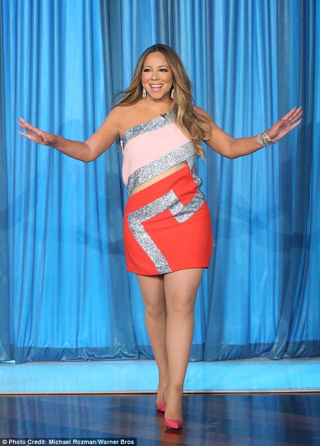 The diva making a big entrance on the Ellen Show this month to promote her new album relea...
