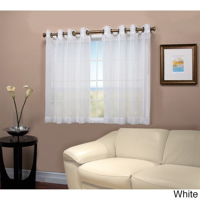 the 25 best short window curtains ideas on pinterest long window curtains small window. Black Bedroom Furniture Sets. Home Design Ideas