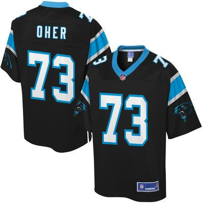 Men's Carolina Panthers Michael Oher NFL Pro Line Team Color Jersey