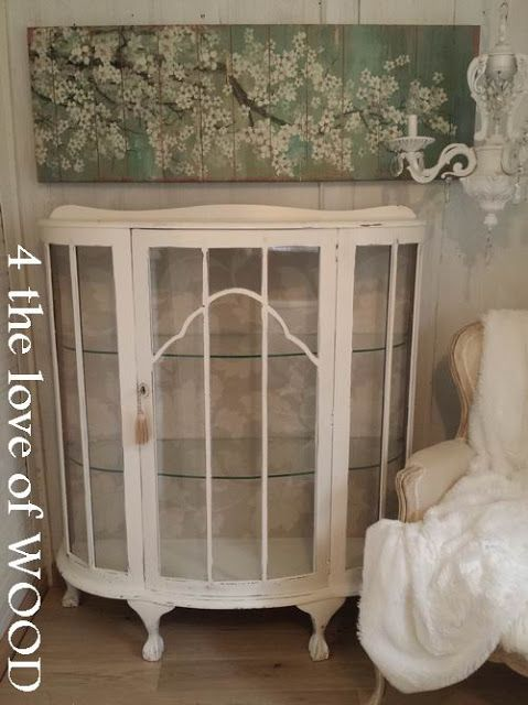 4 the love of wood: ANTIQUE SHOE CABINET - curved glass - ANTIQUE SHOE CABINET - Curved Glass Bedroom Pinterest Woods