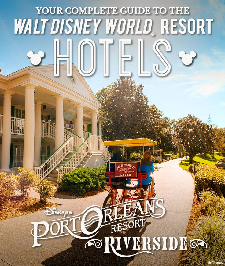 Complete Guide to the Walt Disney World Resort hotels: Disney's Port Orleans Resort - Riverside