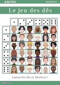 Un jeu de dés pour faire travailler de manière ludique la description physique en classe de FLE ou de langue.