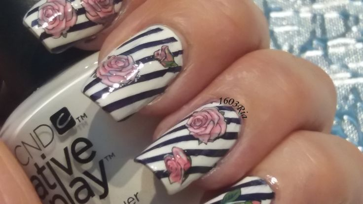 Water Decal ..... Stamping Nails