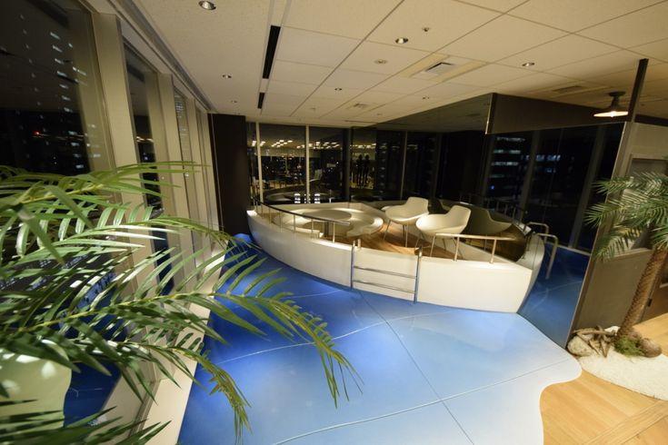 新しく驚きのある空間 ーオフィスでクルージングパーティーをするためにはー|オフィスデザイン事例|デザイナーズオフィスのヴィス
