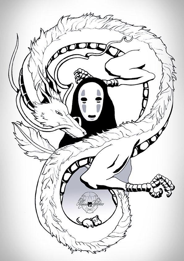 Sen to Chihiro no kamikakushi by marialatorreart.deviantart.com on @DeviantArt