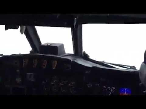 Hurricane Matthew 2016 -  NOAA Crew Flies Real Footage - October 2016
