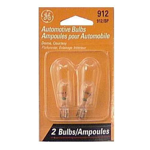 GE 912 - 13W 12v T5 Automotive Lamp - 2 Bulbs