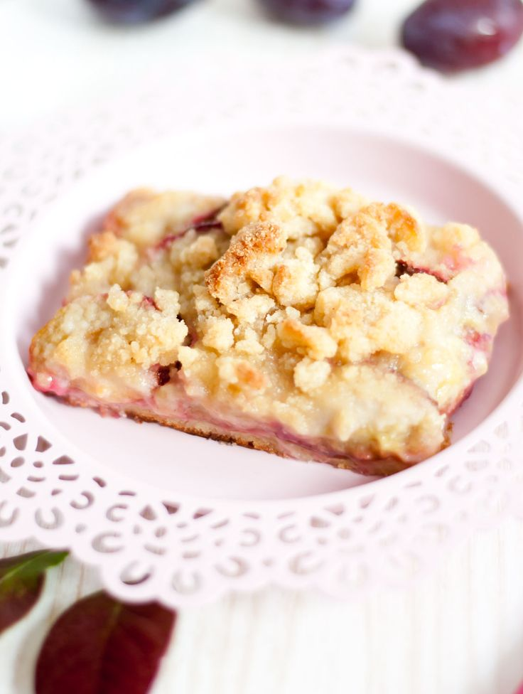 LowCarb Pflaumen-Streuselkuchen – Low Carb Köstlichkeiten