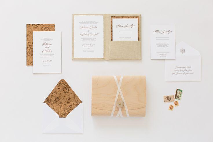 Yonder Design | Custom Event Design, Wedding Inspiration, Custom Invitations, Unique Invitation, Letterpress, Graphic Design, Big Sur, Modern Wedding, Elegant, Simple, Luxury Wedding, Luxury Invitation, Linen Pocket, Invitation Suite, Cork, Romantic