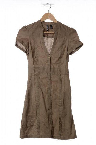 MANGO MNG Safari Kleid Khaki  von MagicShell auf DaWanda.com