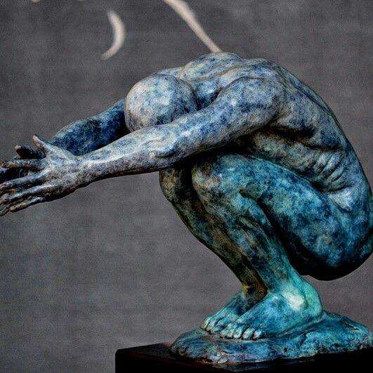 Bronze sculpture @ Laubar Art