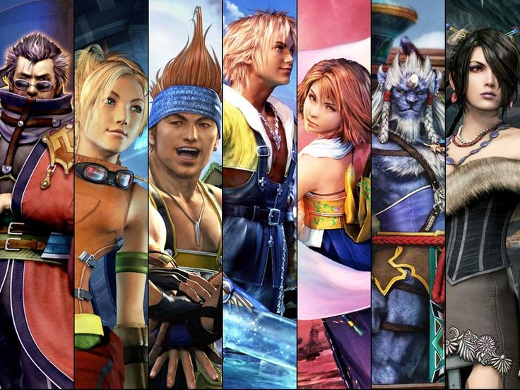 Final Fantasy X (PS2).  The first Final Fantasy game I played, and still my favorite.  Also had a bit of a crush on Rikku at the time.