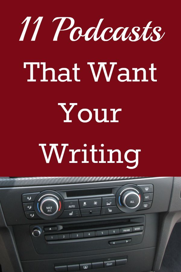 11 Podcasts That Want Your Writing - Beyond Your Blog