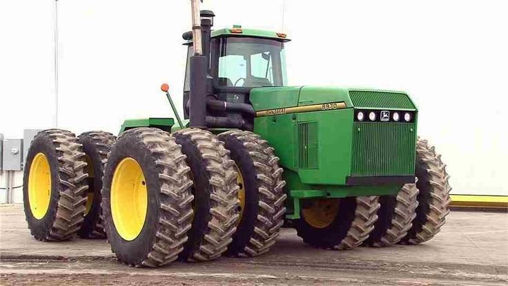 John Deere 8970.  400 HP.