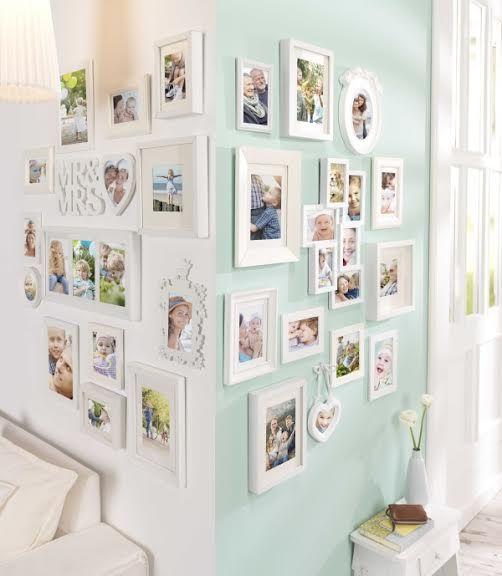 15 kreatív ötlet családi fotók kihelyezésére - Így dekoráld családi fotókkal a falat!