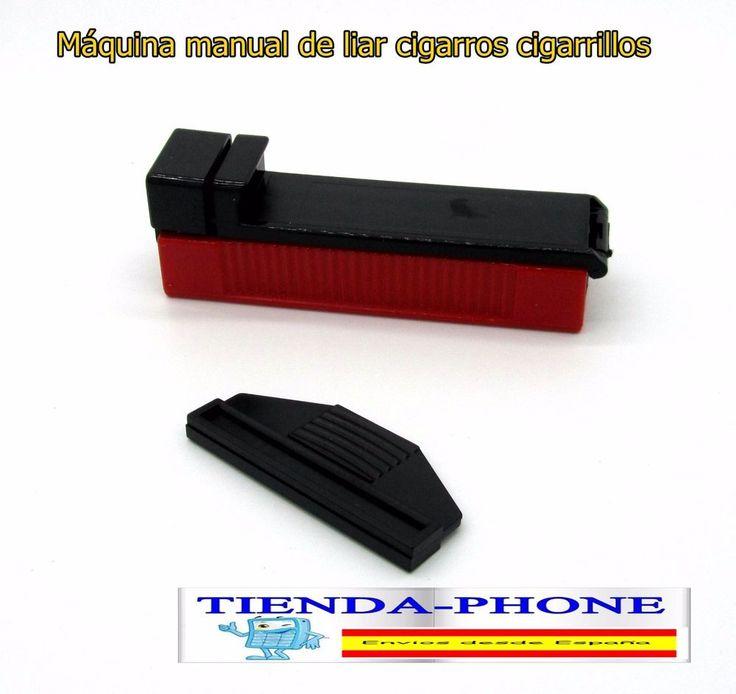 Máquina manual de liar cigarros cigarrillos liadora tabaco