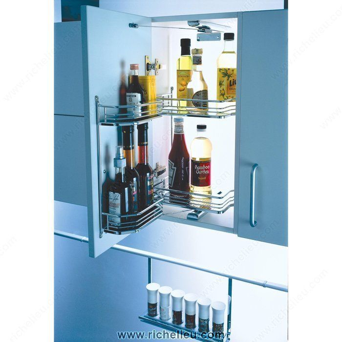 Kitchen Upper Cabinet With Drawers: Tandem, Cabinet Storage And Storage Systems On Pinterest