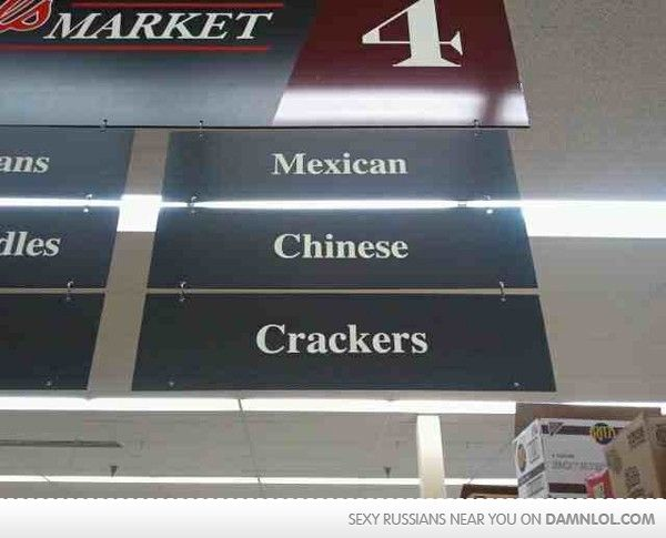 I prefer to be called Caucasian...I probably laughed at this more than I should have.